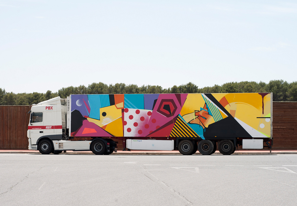 Home Truck Art Project